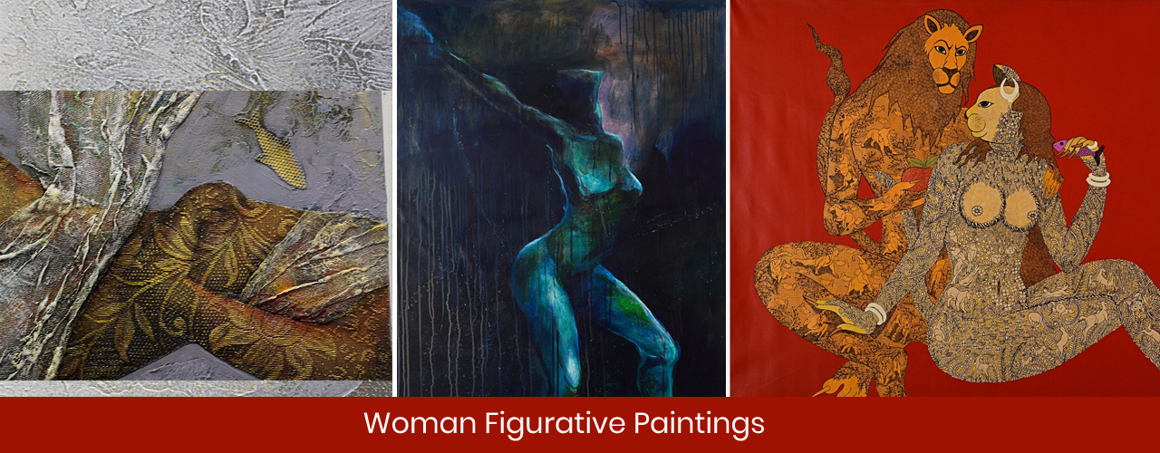 Women Figurative Paintings