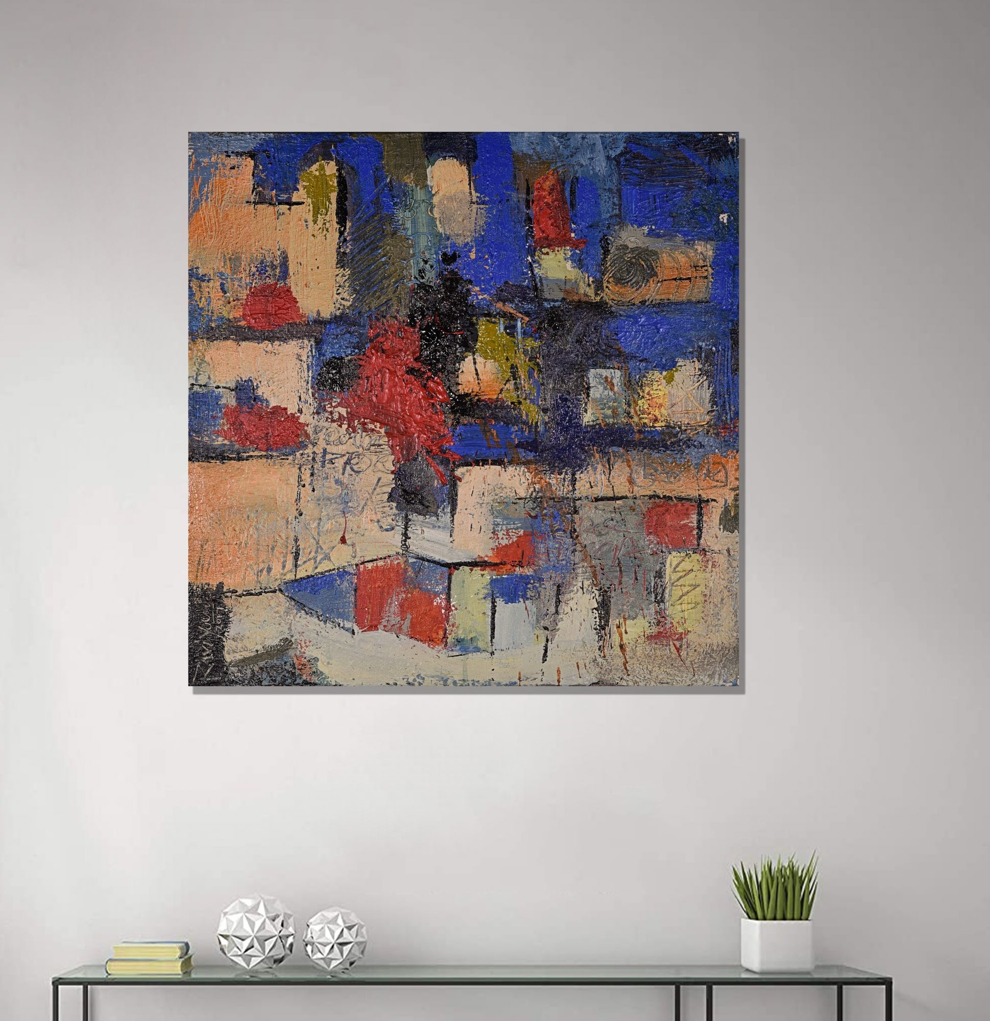 living room paintings in usa