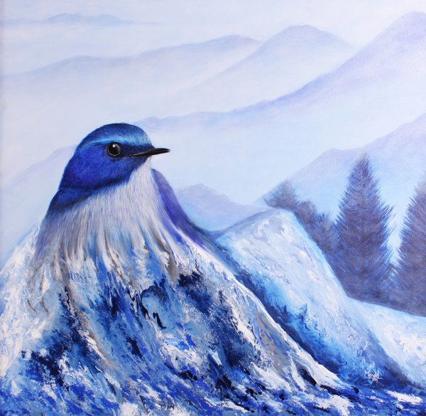 MYTHICAL MOUNTAIN BIRD