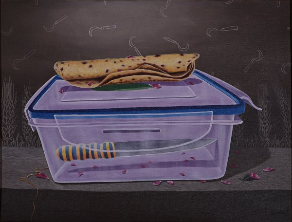 THE LUNCH BOX ABSTRACT PAINTING