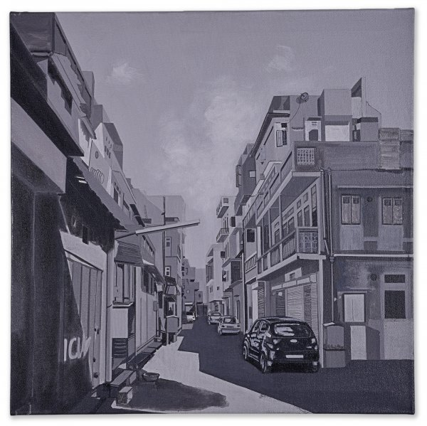 GRAY STREET ORIGINAL PAINTING