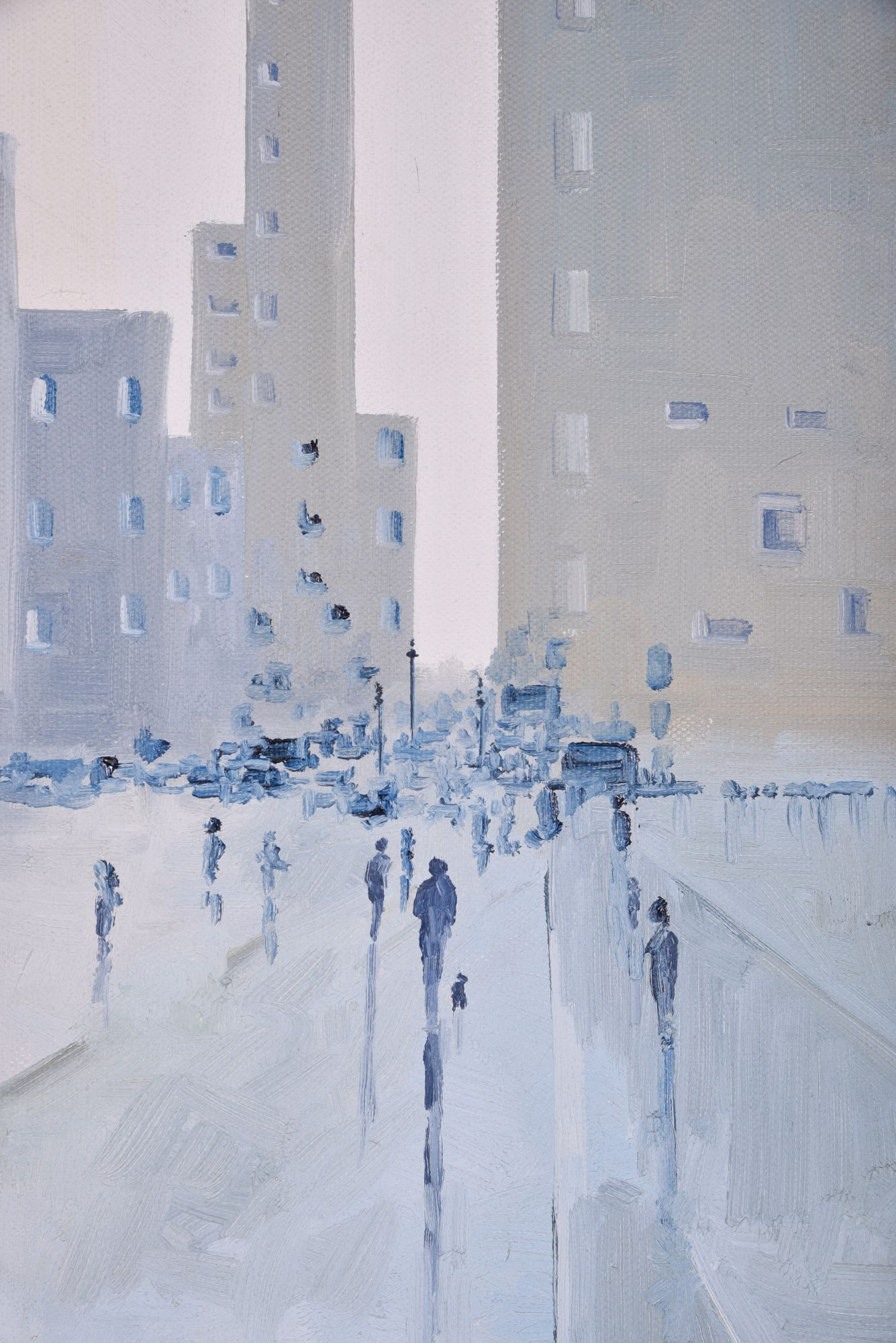 UNTITLED CITYSCAPE PAINTING